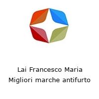 Lai Francesco Maria Migliori marche antifurto