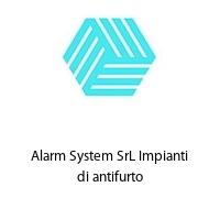 Alarm System SrL Impianti di antifurto