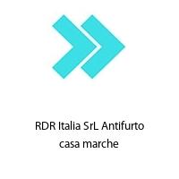 RDR Italia SrL Antifurto casa marche