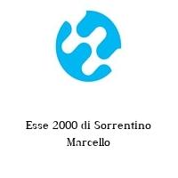 Esse 2000 di Sorrentino Marcello