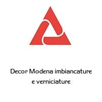 Decor Modena imbiancature e verniciature