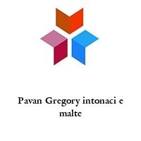 Pavan Gregory intonaci e malte