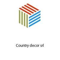 Country decor srl