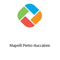 Mapelli Pietro stuccatore