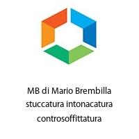 MB di Mario Brembilla stuccatura intonacatura controsoffittatura