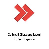 Colbrelli Giuseppe lavori in cartongesso