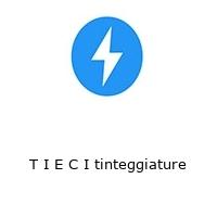 T I E C I tinteggiature