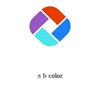 a b color