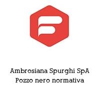 Ambrosiana Spurghi SpA Pozzo nero normativa