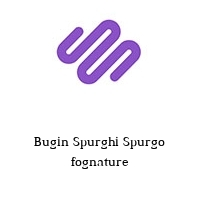 Bugin Spurghi Spurgo fognature