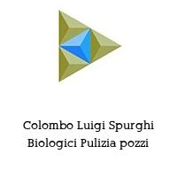 Colombo Luigi Spurghi Biologici Pulizia pozzi