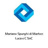 Mariano Spurghi di Marton Luca e C SnC