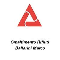 Smaltimento Rifiuti Ballarini Marco