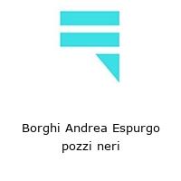 Borghi Andrea Espurgo pozzi neri