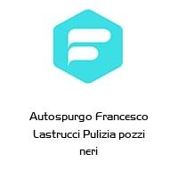 Autospurgo Francesco Lastrucci Pulizia pozzi neri