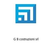 G B costruzioni srl