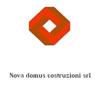 Nova domus costruzioni srl