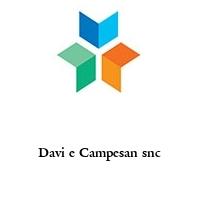 Davi e Campesan snc