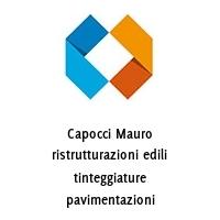 Capocci Mauro ristrutturazioni edili tinteggiature pavimentazioni