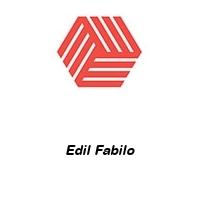 Edil Fabilo