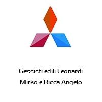 Gessisti edili Leonardi Mirko e Ricca Angelo