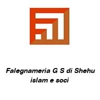 Falegnameria G S di Shehu islam e soci