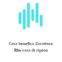 Casa benefica Zavattaro Rho casa di riposo