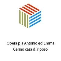 Opera pia Antonio ed Emma Cerino casa di riposo