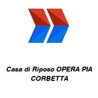 Casa di Riposo OPERA PIA CORBETTA