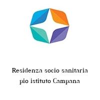 Residenza socio sanitaria pio istituto Campana