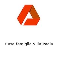 Casa famiglia villa Paola