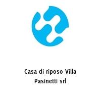 Casa di riposo Villa Pasinetti srl