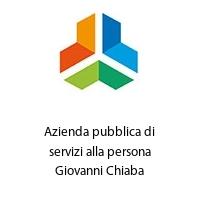 Azienda pubblica di servizi alla persona Giovanni Chiaba