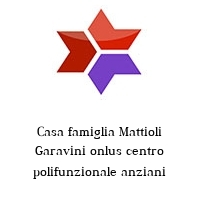 Casa famiglia Mattioli Garavini onlus centro polifunzionale anziani