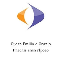 Opera Emilia e Orazio Pascale casa riposo
