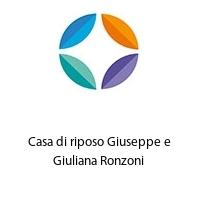 Casa di riposo Giuseppe e Giuliana Ronzoni