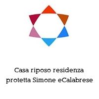 Casa riposo residenza protetta Simone eCalabrese