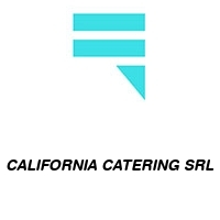 CALIFORNIA CATERING SRL