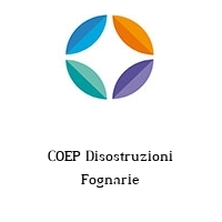 COEP Disostruzioni Fognarie