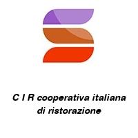 C I R cooperativa italiana di ristorazione