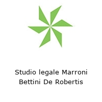Studio legale Marroni Bettini De Robertis