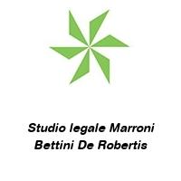 Studio legale Marroni Bettini De Robertis