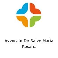 Avvocato De Salve Maria Rosaria