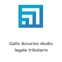 Gallo Accursio studio legale tributario