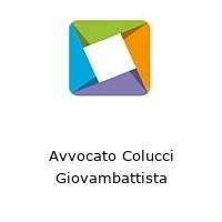 Avvocato Colucci Giovambattista