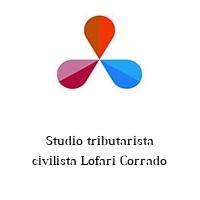 Studio tributarista civilista Lofari Corrado
