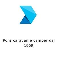 Pons caravan e camper dal 1969