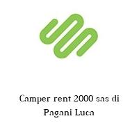 Camper rent 2000 sas di Pagani Luca