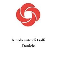 A nolo auto di Galli Daniele