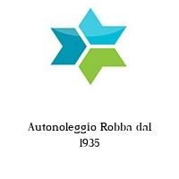 Autonoleggio Robba dal 1935